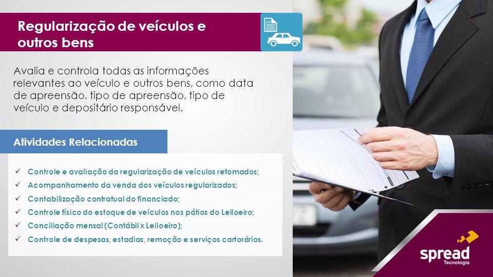 Regularização de veículos e outros bens