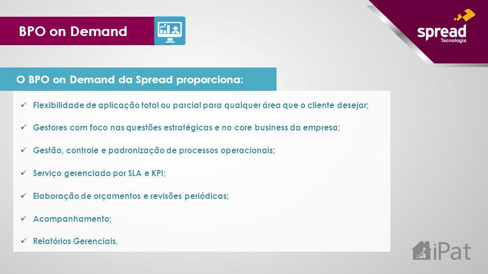 BPO on Demand O BPO on Demand da Spread proporciona: