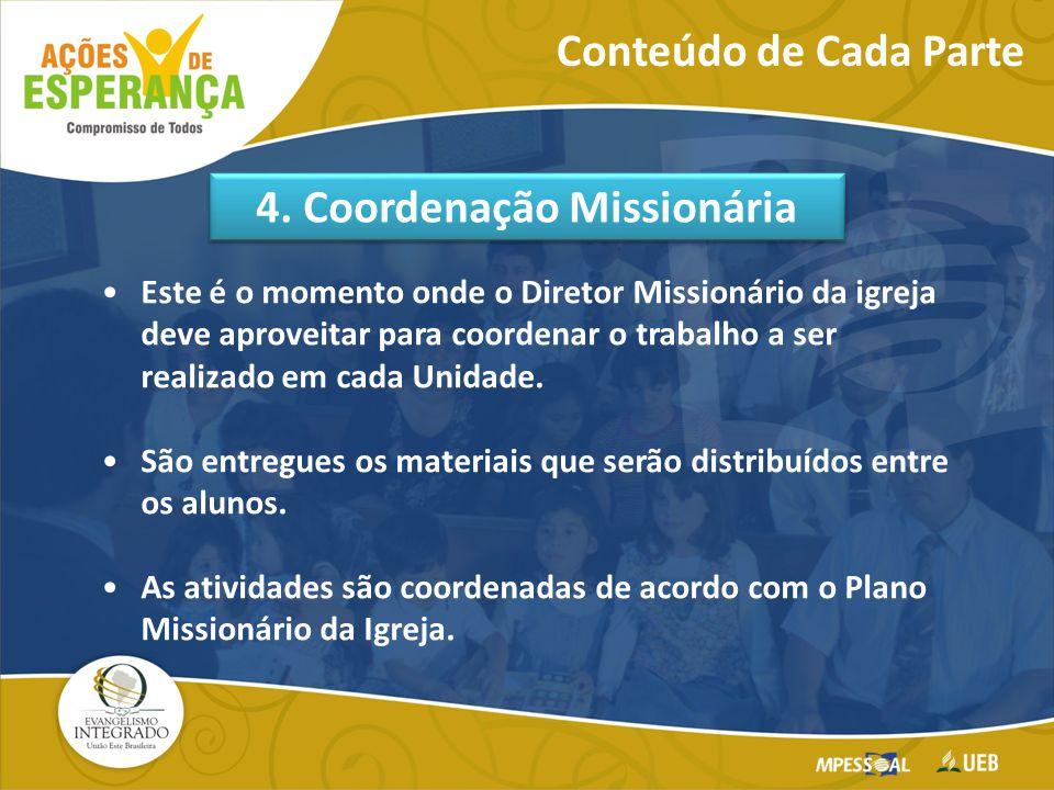 4. Coordenação Missionária
