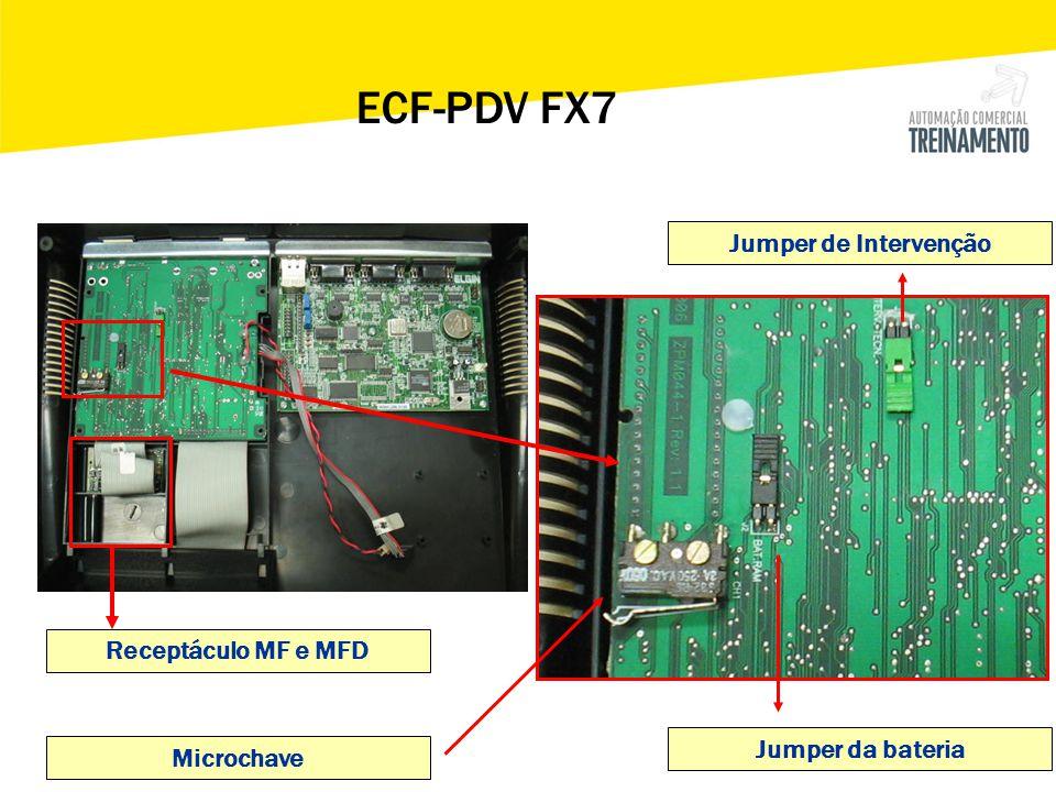 ECF-PDV FX7 Jumper de Intervenção Receptáculo MF e MFD