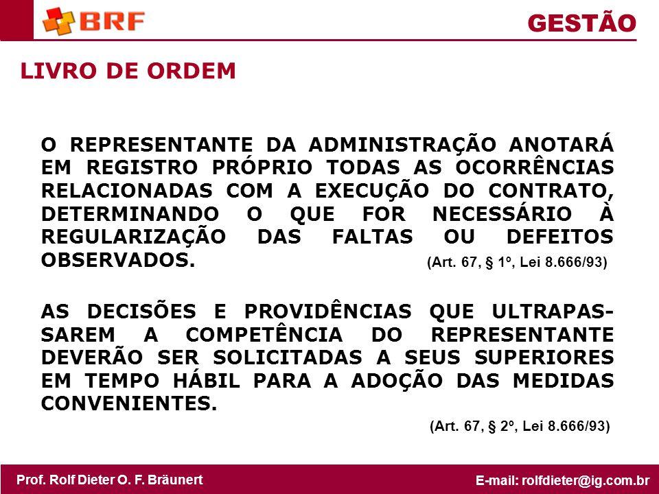 GESTÃO LIVRO DE ORDEM.