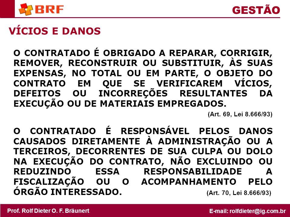 GESTÃO VÍCIOS E DANOS.