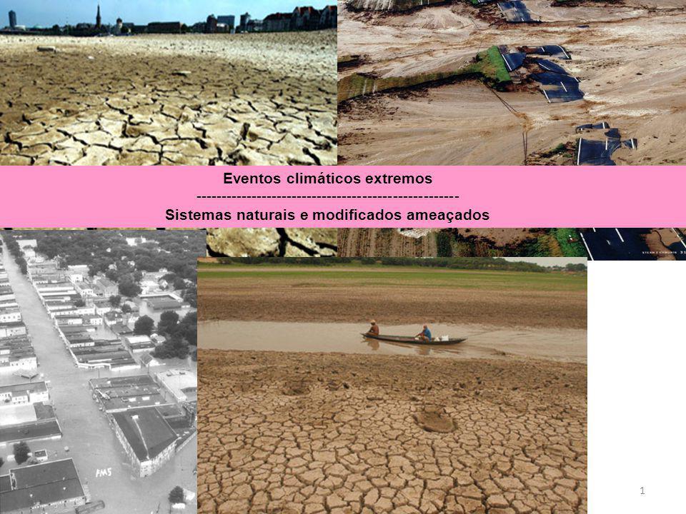 Sistemas naturais e modificados ameaçados
