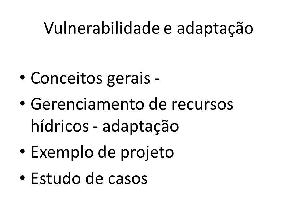 Vulnerabilidade e adaptação