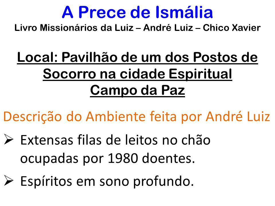 A Prece de Ismália Descrição do Ambiente feita por André Luiz