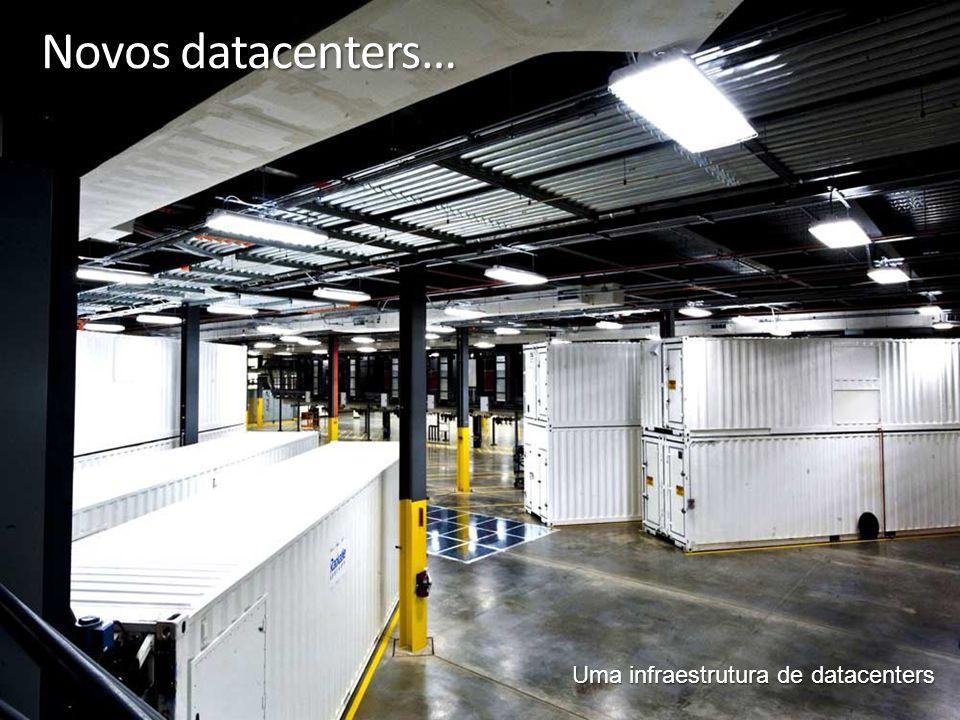 Novos datacenters… Uma infraestrutura de datacenters