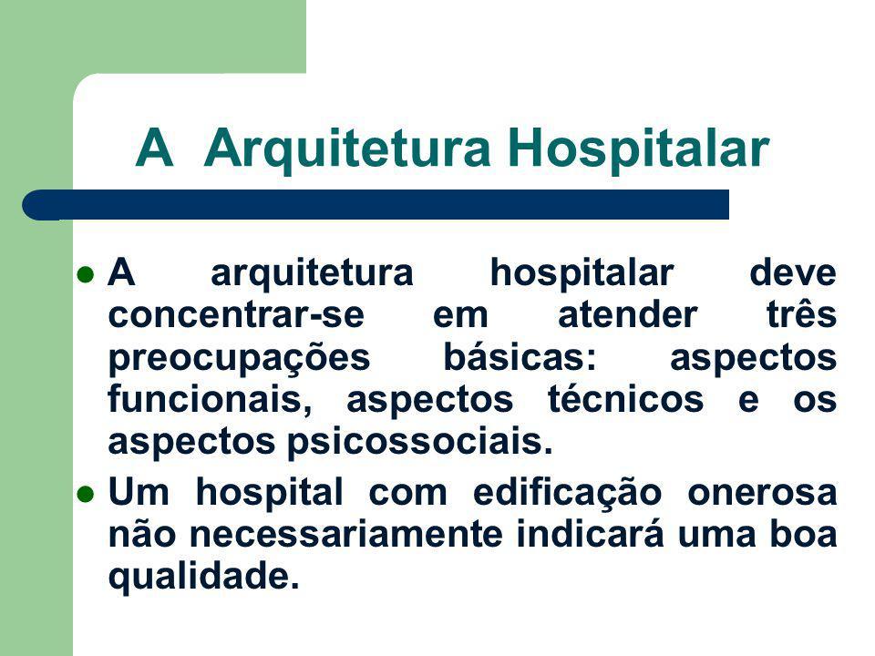 A Arquitetura Hospitalar