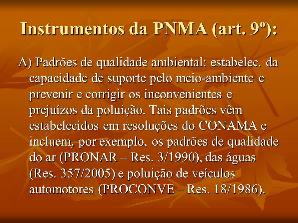 Instrumentos da PNMA (art. 9º):