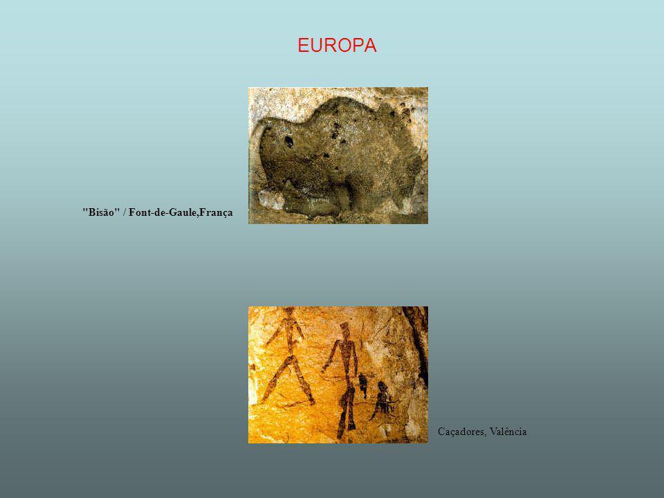 EUROPA Bisão / Font-de-Gaule,França Caçadores, Valência