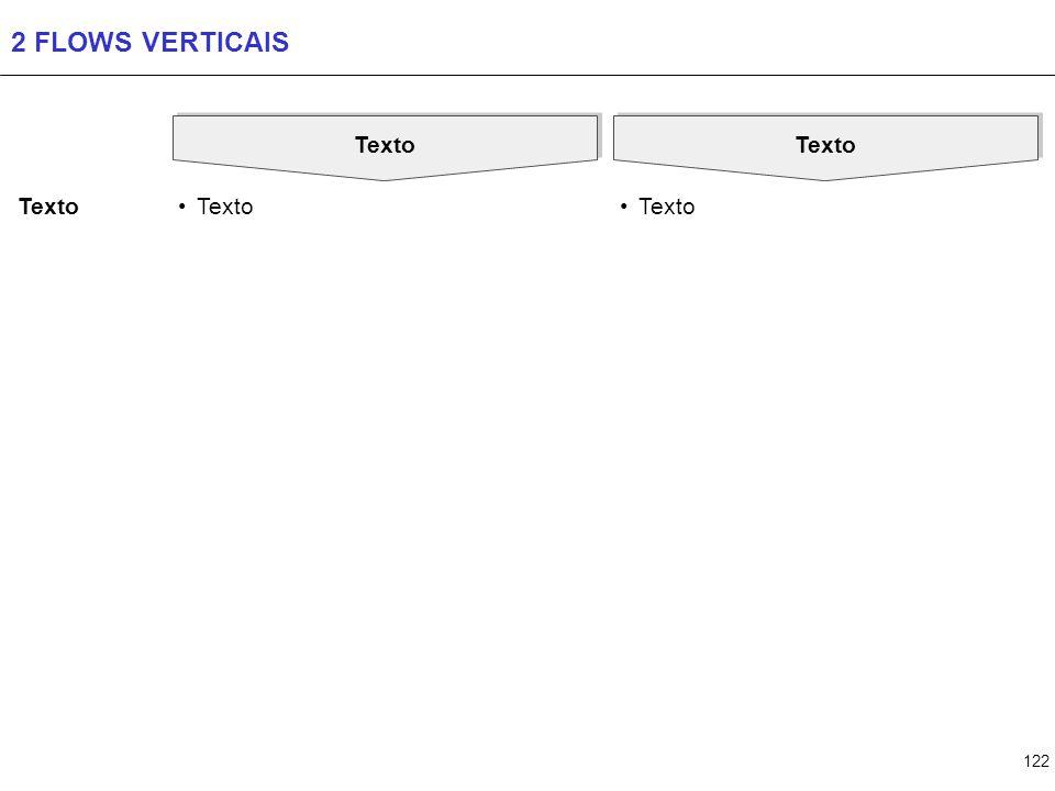 3 FLOWS VERTICAIS Texto Texto Texto Texto Texto Texto Texto