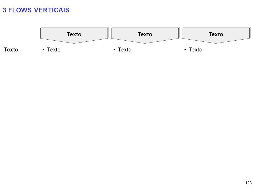 4 FLOWS VERTICAIS Texto Texto Texto Texto Texto Texto Texto Texto