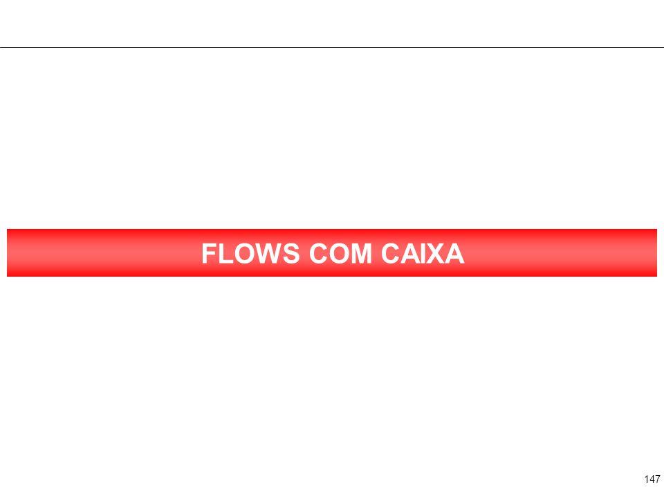 2 FLOWS COM CAIXA Texto Texto Texto Texto