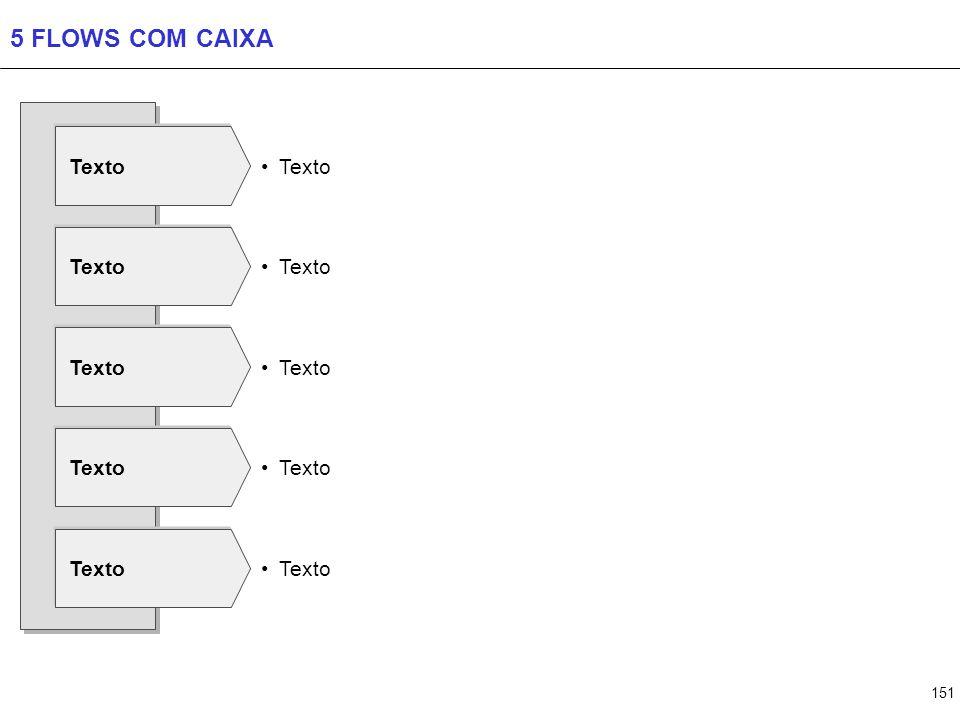 6 FLOWS COM CAIXA Texto Texto Texto Texto Texto Texto Texto Texto