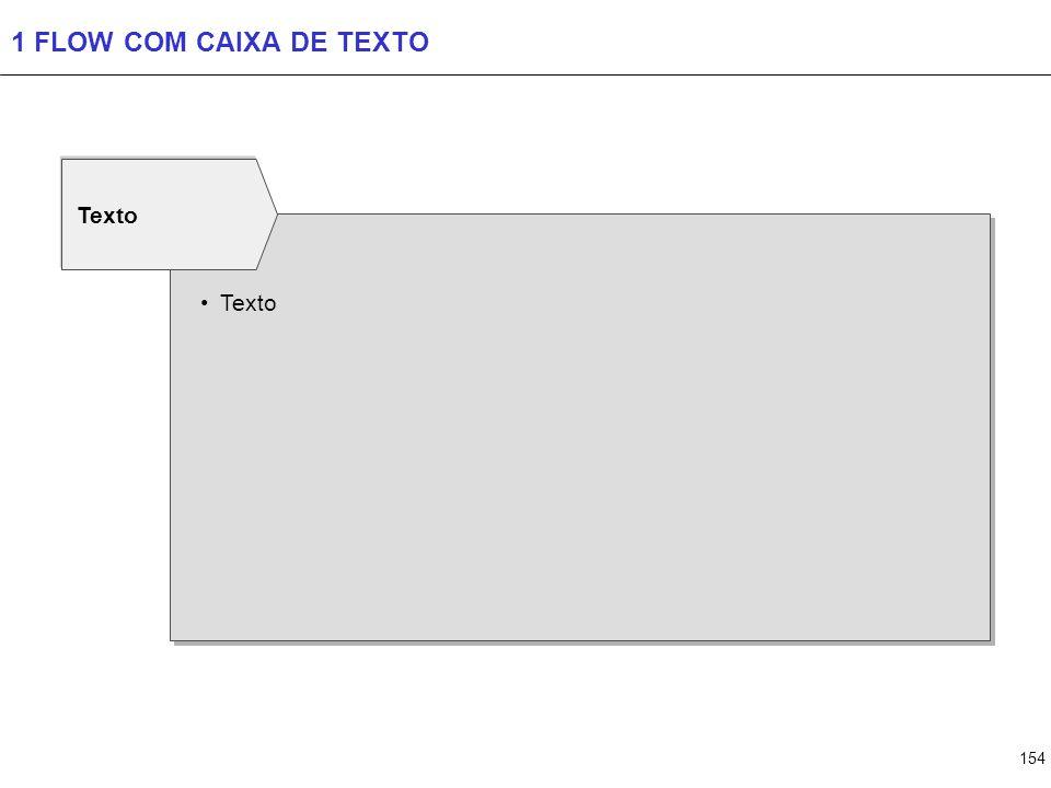 2 FLOWS COM CAIXA DE TEXTO