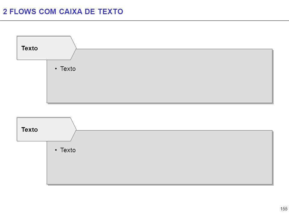 3 FLOWS COM CAIXA DE TEXTO