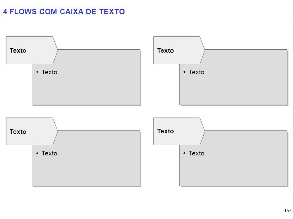 6 FLOWS COM CAIXA DE TEXTO