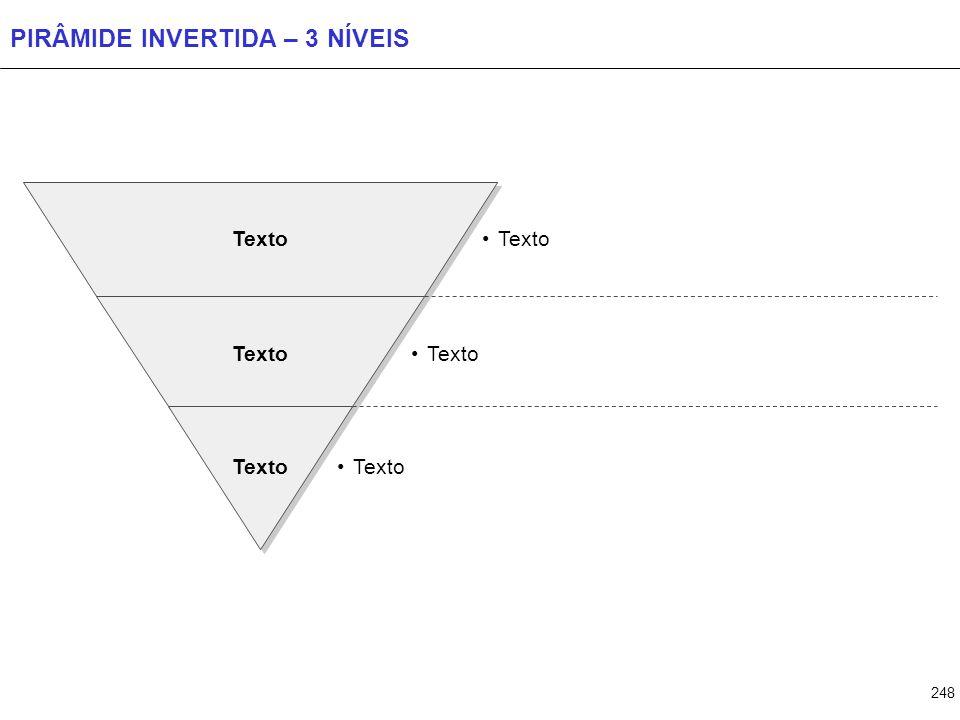 PIRÂMIDE INVERTIDA – 4 NÍVEIS