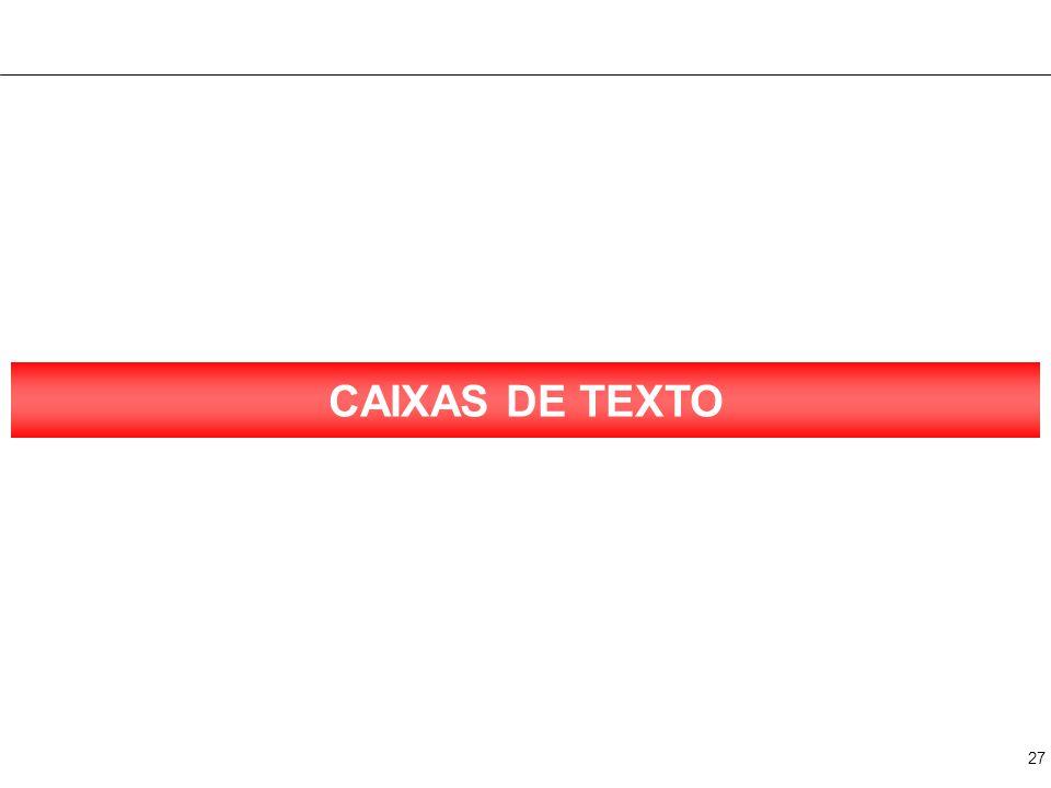CAIXA DE TEXTO 1 Texto