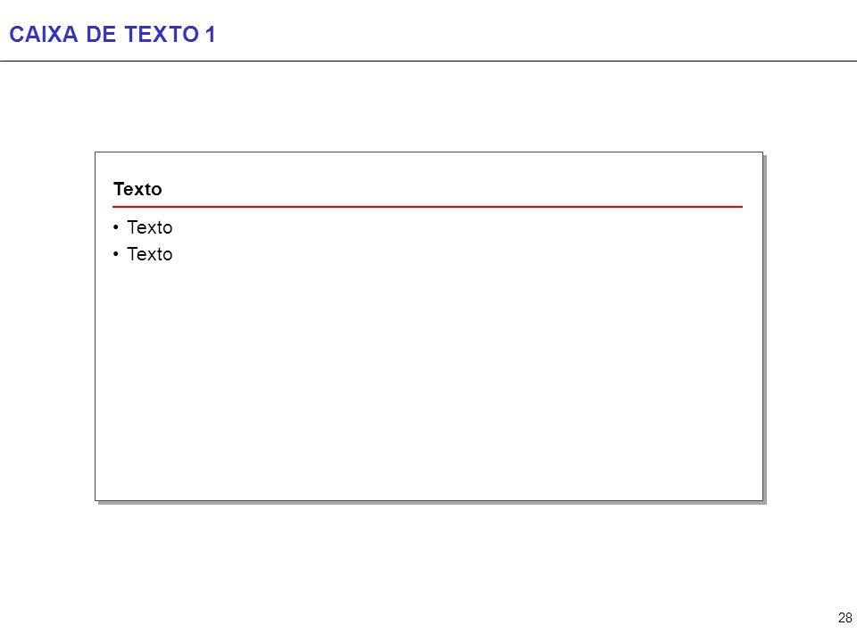 CAIXA DE TEXTO 2 Texto