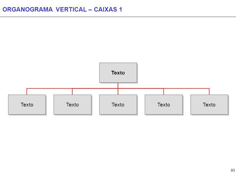 ORGANOGRAMA VERTICAL – CAIXAS 2