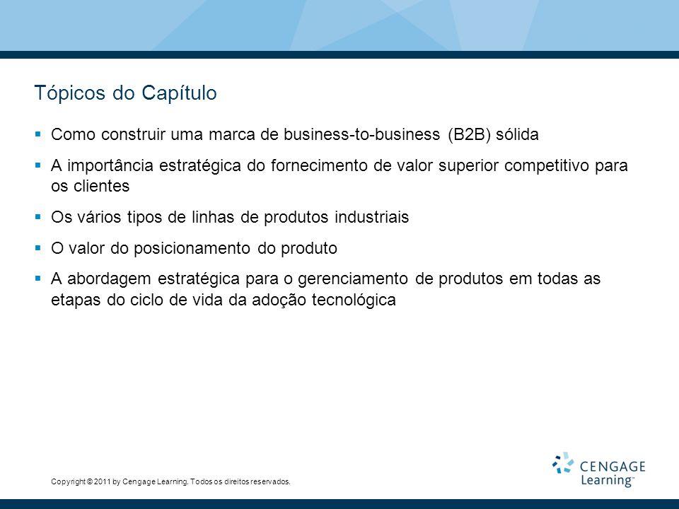 Tópicos do Capítulo Como construir uma marca de business-to-business (B2B) sólida.