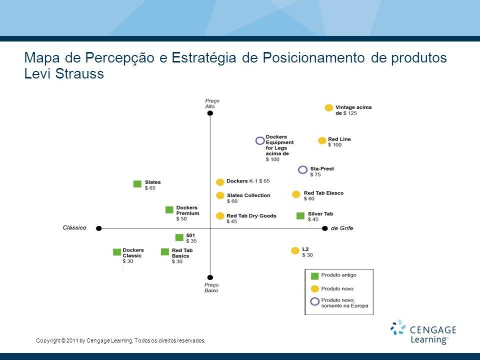 Mapa de Percepção e Estratégia de Posicionamento de produtos Levi Strauss