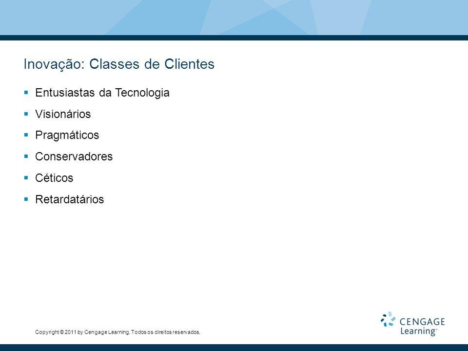 Inovação: Classes de Clientes