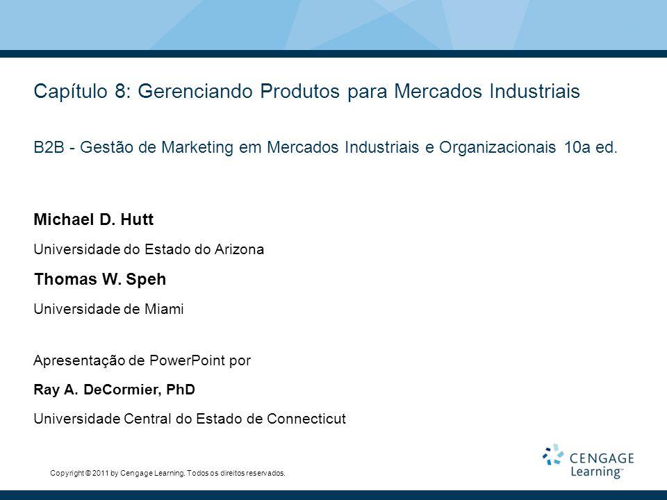 Capítulo 8: Gerenciando Produtos para Mercados Industriais