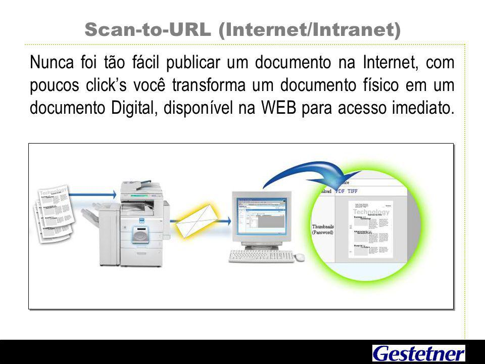 Scan-to-URL (Internet/Intranet)