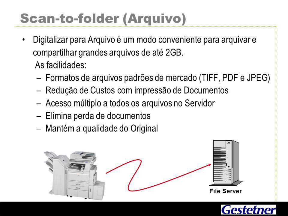 Scan-to-folder (Arquivo)