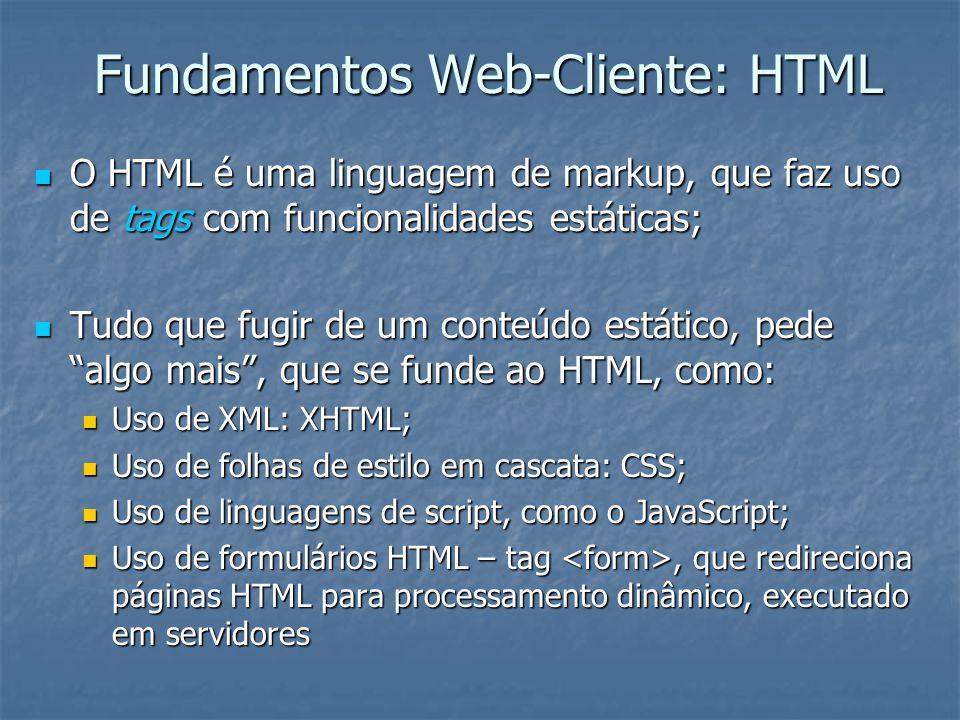Fundamentos Web-Cliente: HTML
