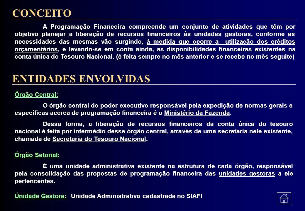 CONCEITO ENTIDADES ENVOLVIDAS