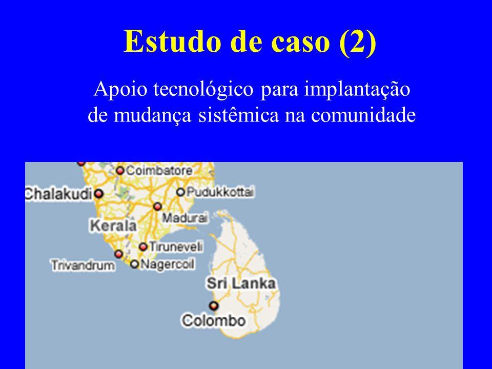 Apoio tecnológico para implantação de mudança sistêmica na comunidade
