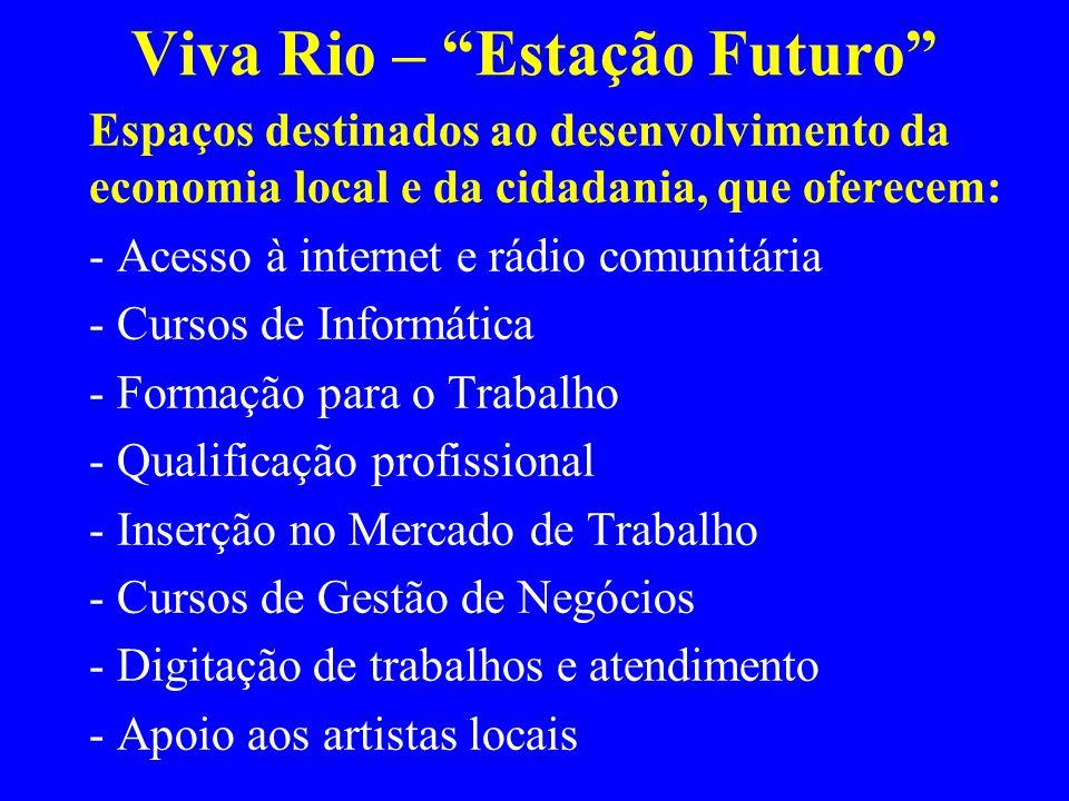 Viva Rio – Estação Futuro