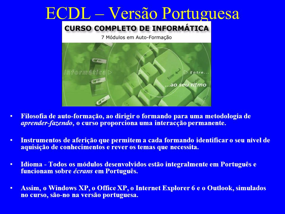 ECDL – Versão Portuguesa