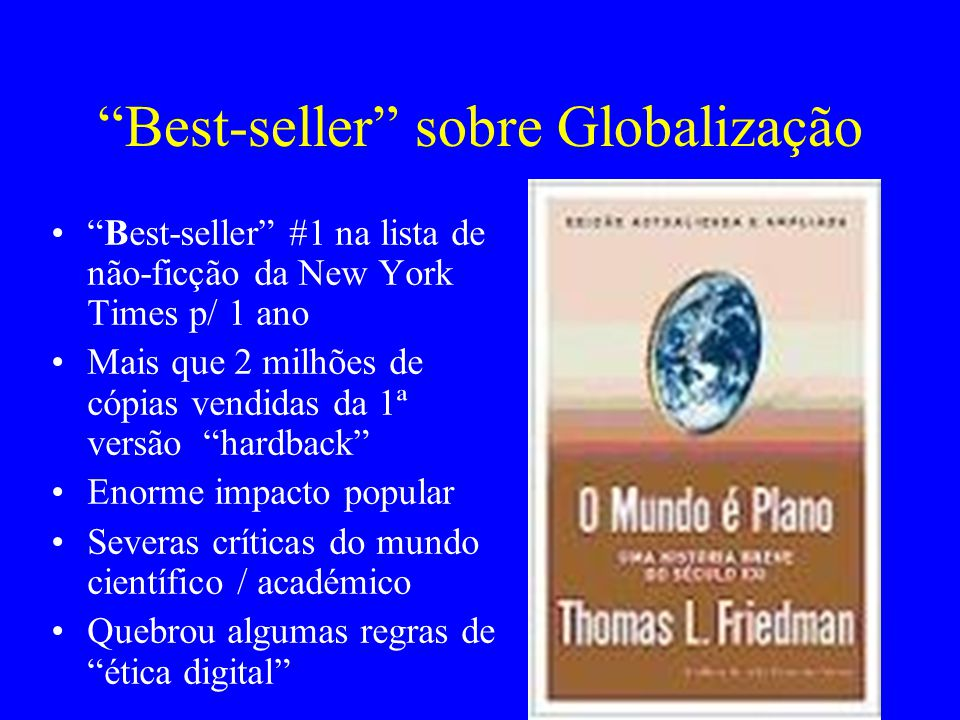 Best-seller sobre Globalização