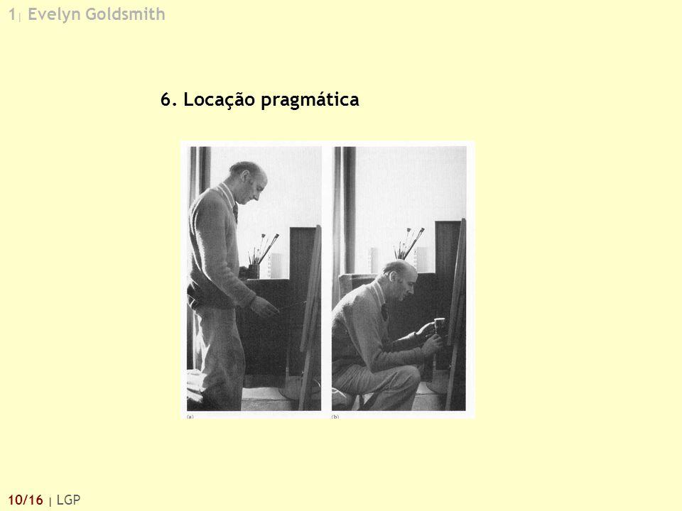 1| Evelyn Goldsmith 6. Locação pragmática 10/16 | LGP
