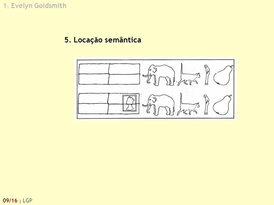 1| Evelyn Goldsmith 5. Locação semântica 09/16 | LGP