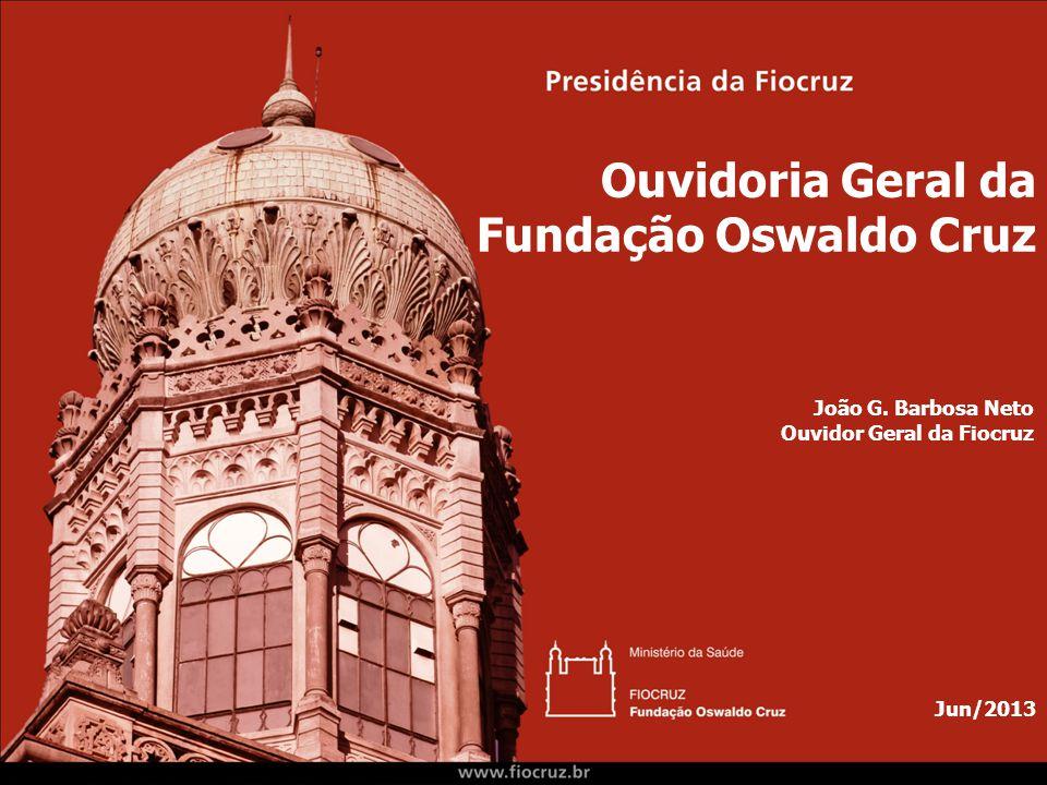 Ouvidoria Geral da Fundação Oswaldo Cruz