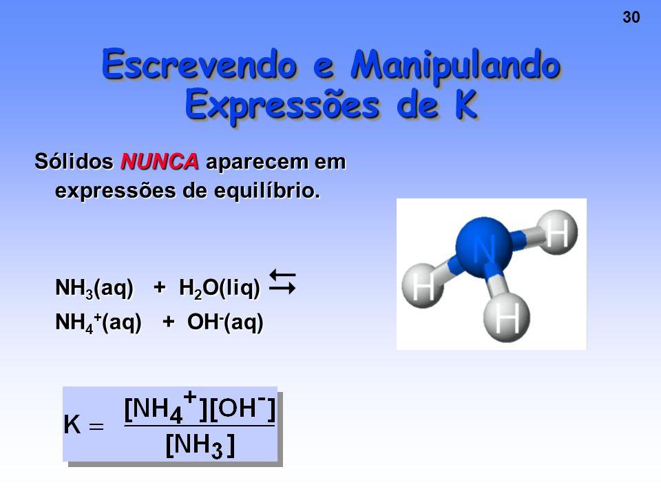 Escrevendo e Manipulando Expressões de K