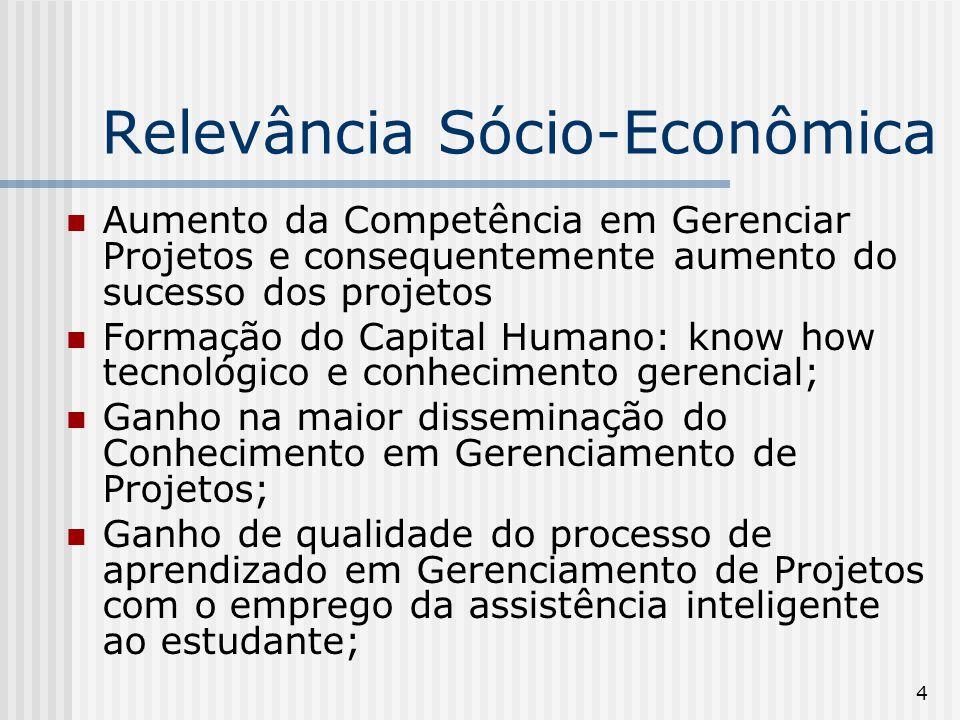 Relevância Sócio-Econômica