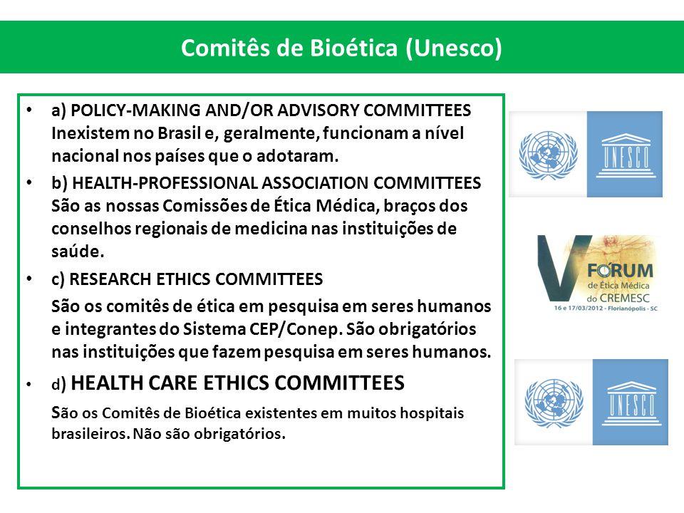 Comitês de Bioética (Unesco)