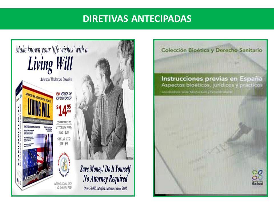 DIRETIVAS ANTECIPADAS