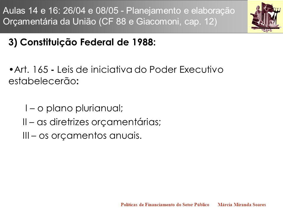 3) Constituição Federal de 1988: