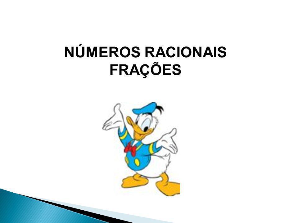 NÚMEROS RACIONAIS FRAÇÕES