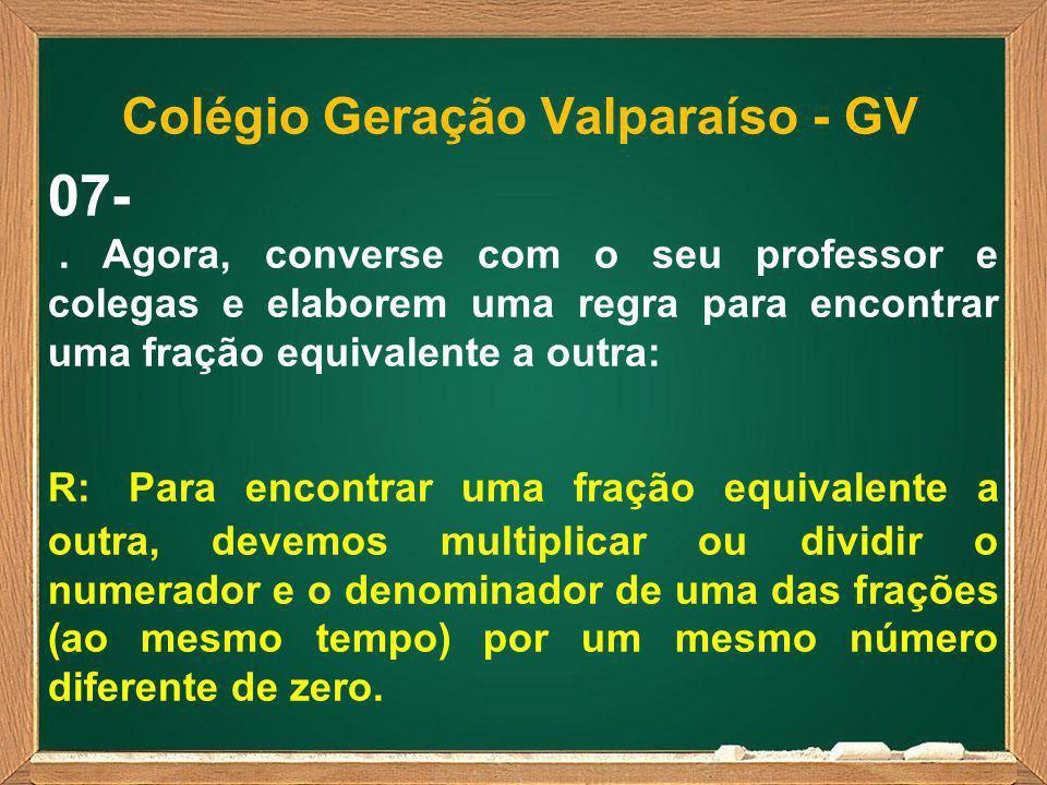 Colégio Geração Valparaíso - GV