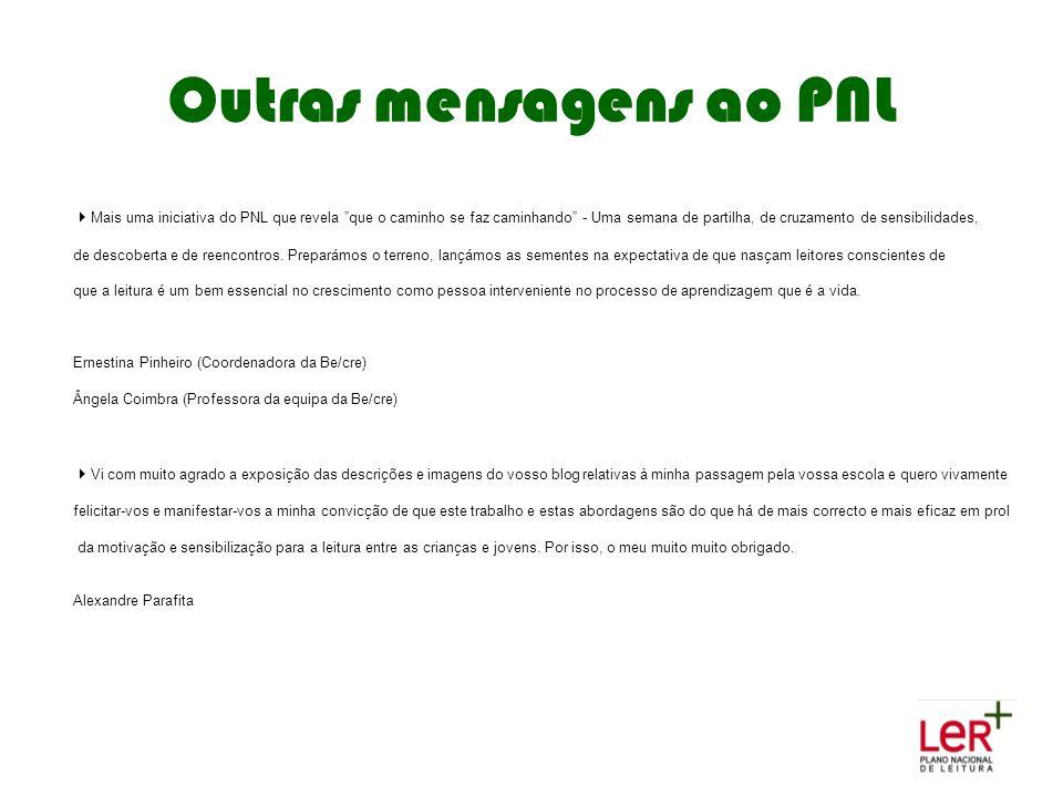 Outras mensagens ao PNL