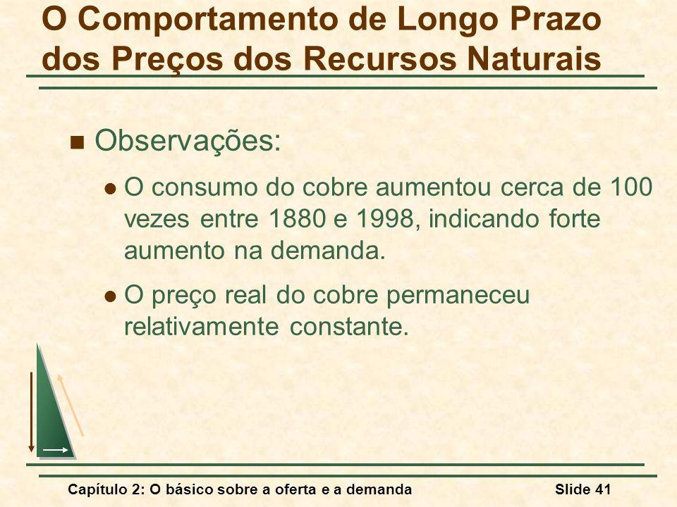 O Comportamento de Longo Prazo dos Preços dos Recursos Naturais