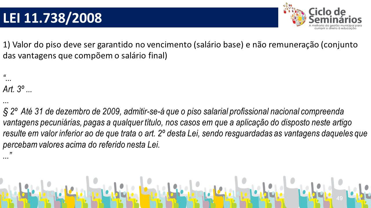 LEI 11.738/2008