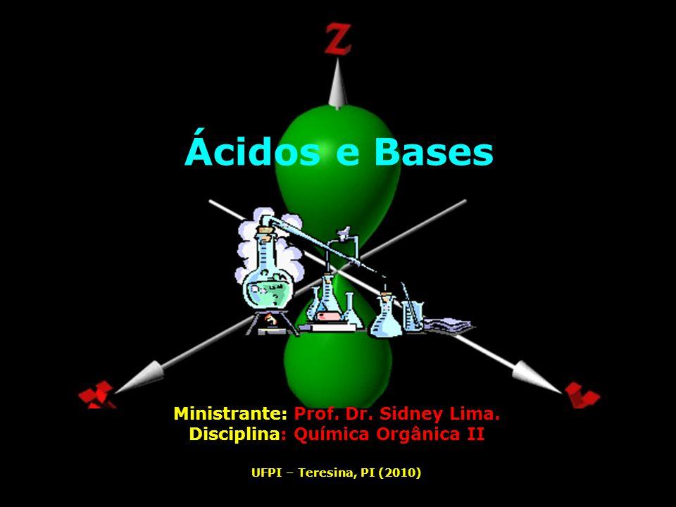 Ministrante: Prof. Dr. Sidney Lima. Disciplina: Química Orgânica II